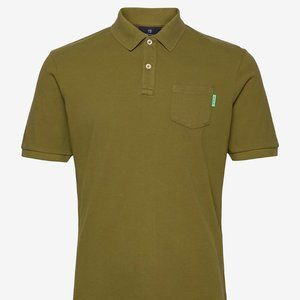 Scotch & Soda Top polo shirt BNWT military green